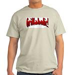 Grillaholic Ash Grey T-Shirt