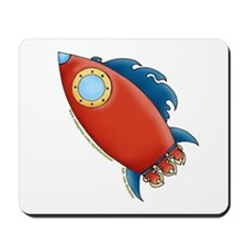 Cute Rocket Picture 2 Mousepad
