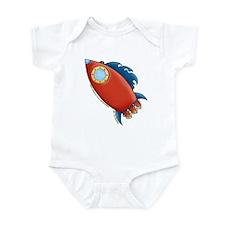 Cute Rocket Picture 2 Infant Bodysuit