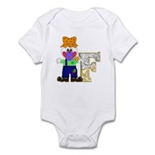 Baby Initials - F Infant Creeper