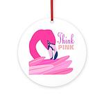 Think Pink Keepsake (Round)