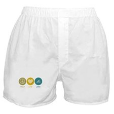 Peace Love Crew Boxer Shorts