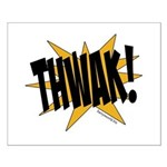 THWAK! Small Poster