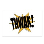 THWAK! Postcards (Package of 8)