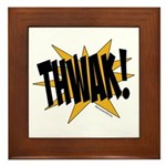 THWAK! Framed Tile
