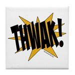 THWAK! Tile Coaster