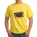 THWAK! Yellow T-Shirt