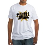 THWAK! Fitted T-Shirt