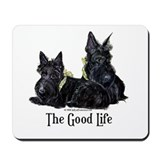Scottish Terrier Good Life Do Mousepad