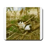 Cat in a Bush Mousepad
