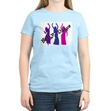 Belly Dance Trio Women's Pink T-Shirt