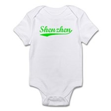 Vintage Shenzhen (Green) Infant Bodysuit