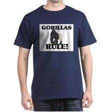 Gorillas Rule! T-Shirt