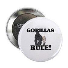 "Gorillas Rule! 2.25"" Button"