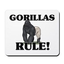 Gorillas Rule! Mousepad
