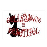 Bellydance is Beautiful Silho Postcards (Package o