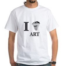 I Love Art-Duchamp Shirt