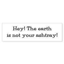 Cigarette Litterbug Bumper Sticker (50 pk)