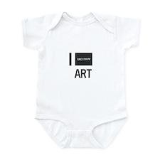 I Love Art-Kawara Infant Bodysuit
