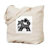 Unique Zodiac sign dog Tote Bag