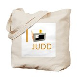 I Love Judd Tote Bag