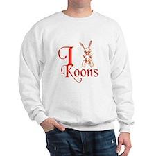 I Love Koons Sweatshirt