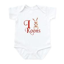I Love Koons Infant Bodysuit
