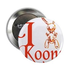 """I Love Koons 2.25"""" Button"""