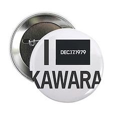 """I Love Kawara 2.25"""" Button"""