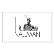 I Love Nauman Rectangle Sticker 10 pk)