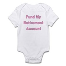 Unique Early retirement Infant Bodysuit