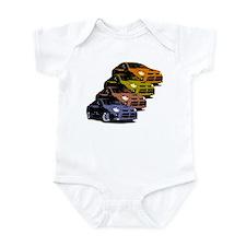 Colorized Neon SRT-4's Infant Bodysuit