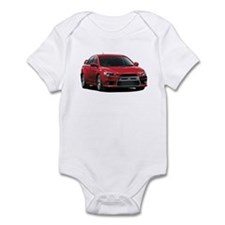 Red Evo X Infant Bodysuit