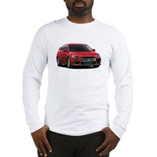 Red Evo X Long Sleeve T-Shirt