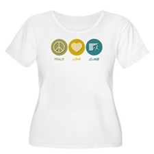 Peace Love Climb T-Shirt