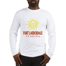 Ft. Lauderdale Sun - Long Sleeve T-Shirt