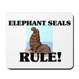 Elephant Seals Rule! Mousepad