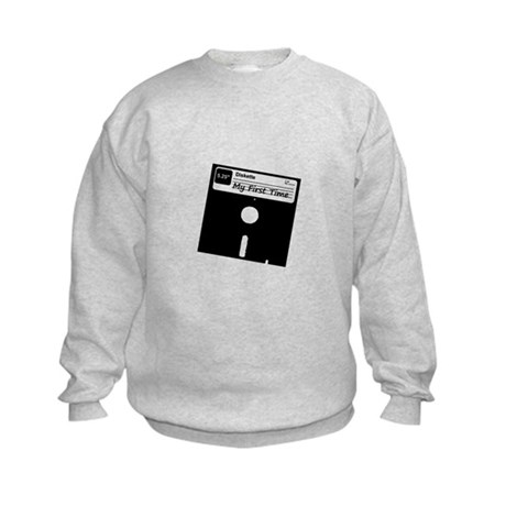 My First Time Kids Sweatshirt