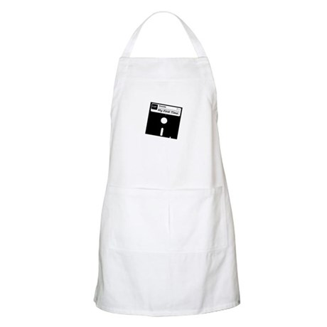 My First Time BBQ Apron
