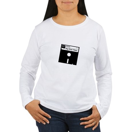 My First Time Womens Long Sleeve T-Shirt