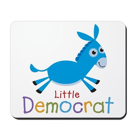 Little Democrat Mousepad