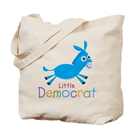 Little Democrat Tote Bag