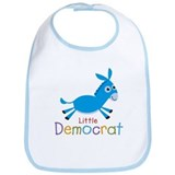 Little Democrat Bib