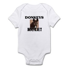 Donkeys Rule! Infant Bodysuit