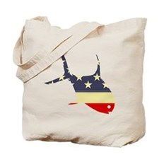 """Patriotic Permit"" Tote Bag"