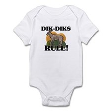 Dik-Diks Rule! Infant Bodysuit