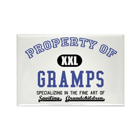 Property of Gramps Rectangle Magnet