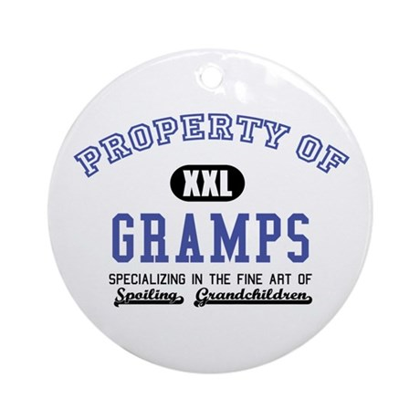 Property of Gramps Ornament (Round)