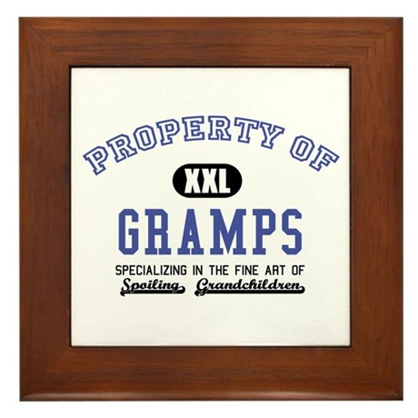 Property of Gramps Framed Tile