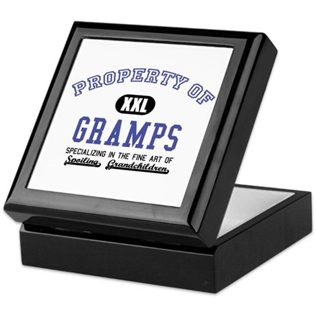 Property of Gramps Keepsake Box